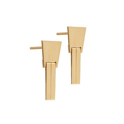 CL.E.103 Silver Drop Earrings