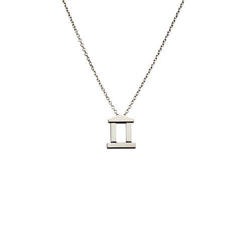 CL.P.101 Silver Pendant in Silver Chain