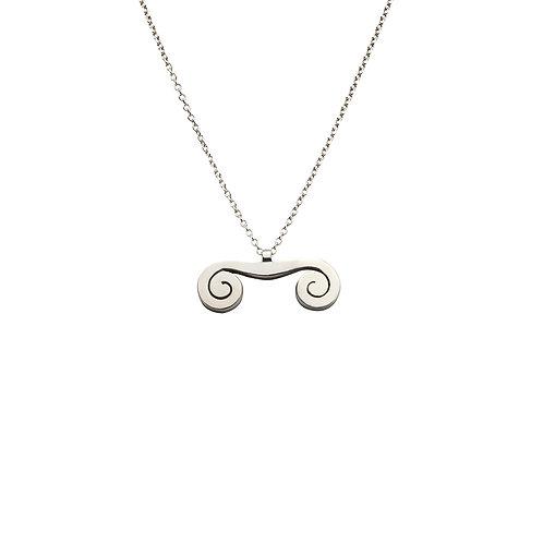 CL.P.102 Silver Pendnat in Silver Chain