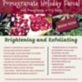 Pomegranate Holiday Facial