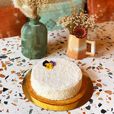 Flocon : cheese cake revisité 6/8 pers