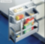 Kitchen Pantry - Vario Sliding Basket