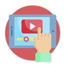 Video tutorials icon - Learning Videos
