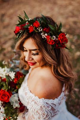 Gorgeous Christmas Bride