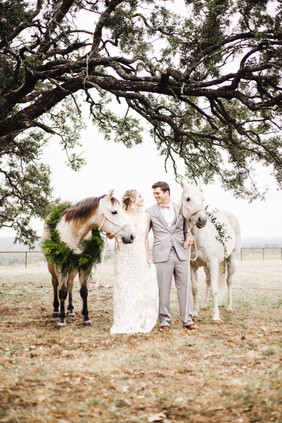 Hand Tied Horse Swags