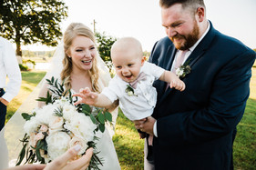 Handsome Ring Bearer with Mini Boutonniere