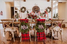 Mr. & Mrs. Chair Wreaths
