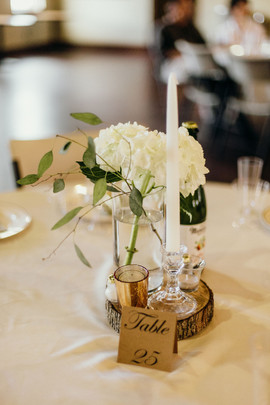 Simple and Lovely Centerpieces