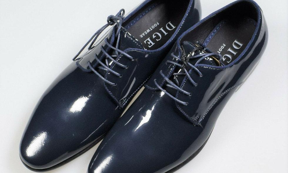 Scarpa vernice blu