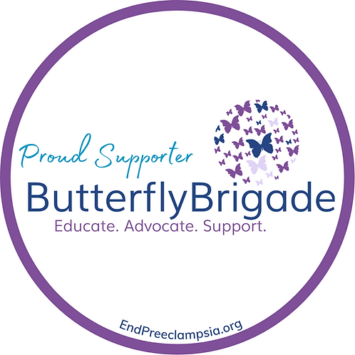 Butterfly Brigade Sticker