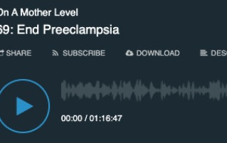 EndPreeclampsia featured on Podcast - On a Mother Level