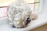 Custom made brooch bouquet