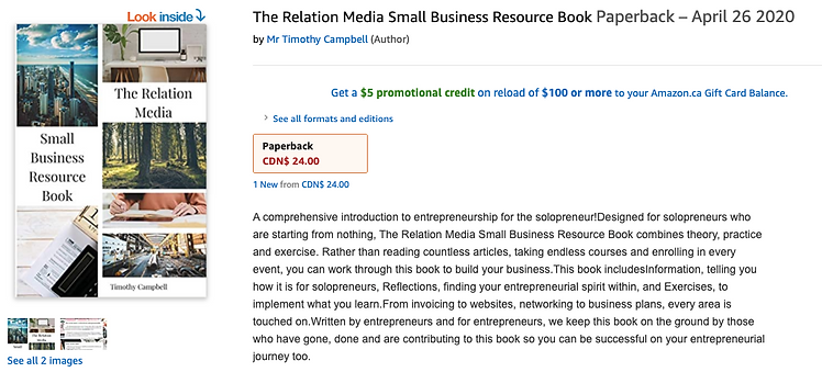 Published Small Business Author