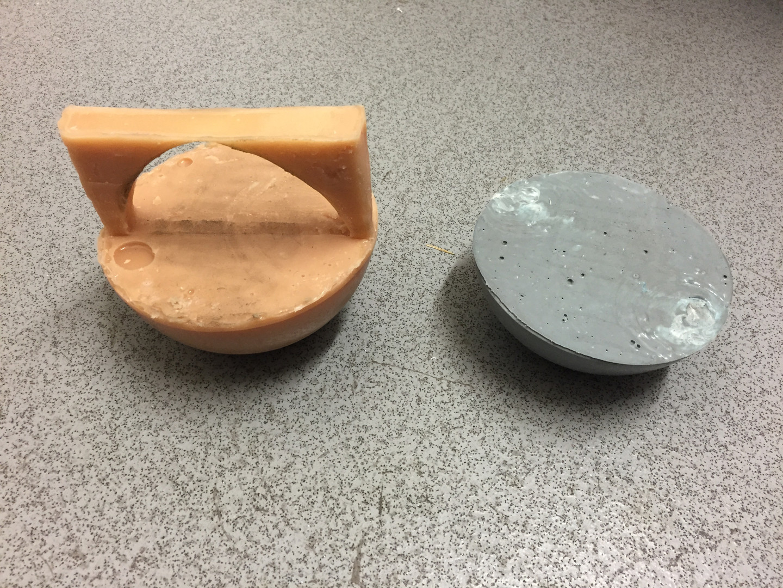 Rubber casting