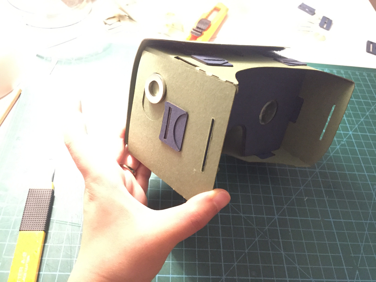 Cardboard prototyping/ Controlling focus point