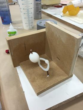 Make mold for plastic casting