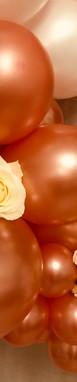 Arche Ballons & fleurs fraiches