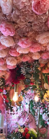 les décors floraux