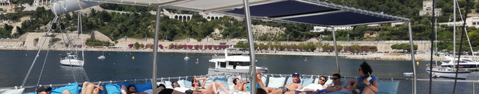 Catamaran à Monaco