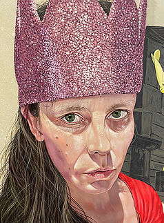 Detail of Self Portrait