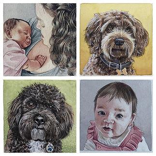 Various Mini-Portraits