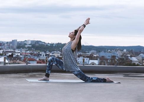 Yoga en la azotea