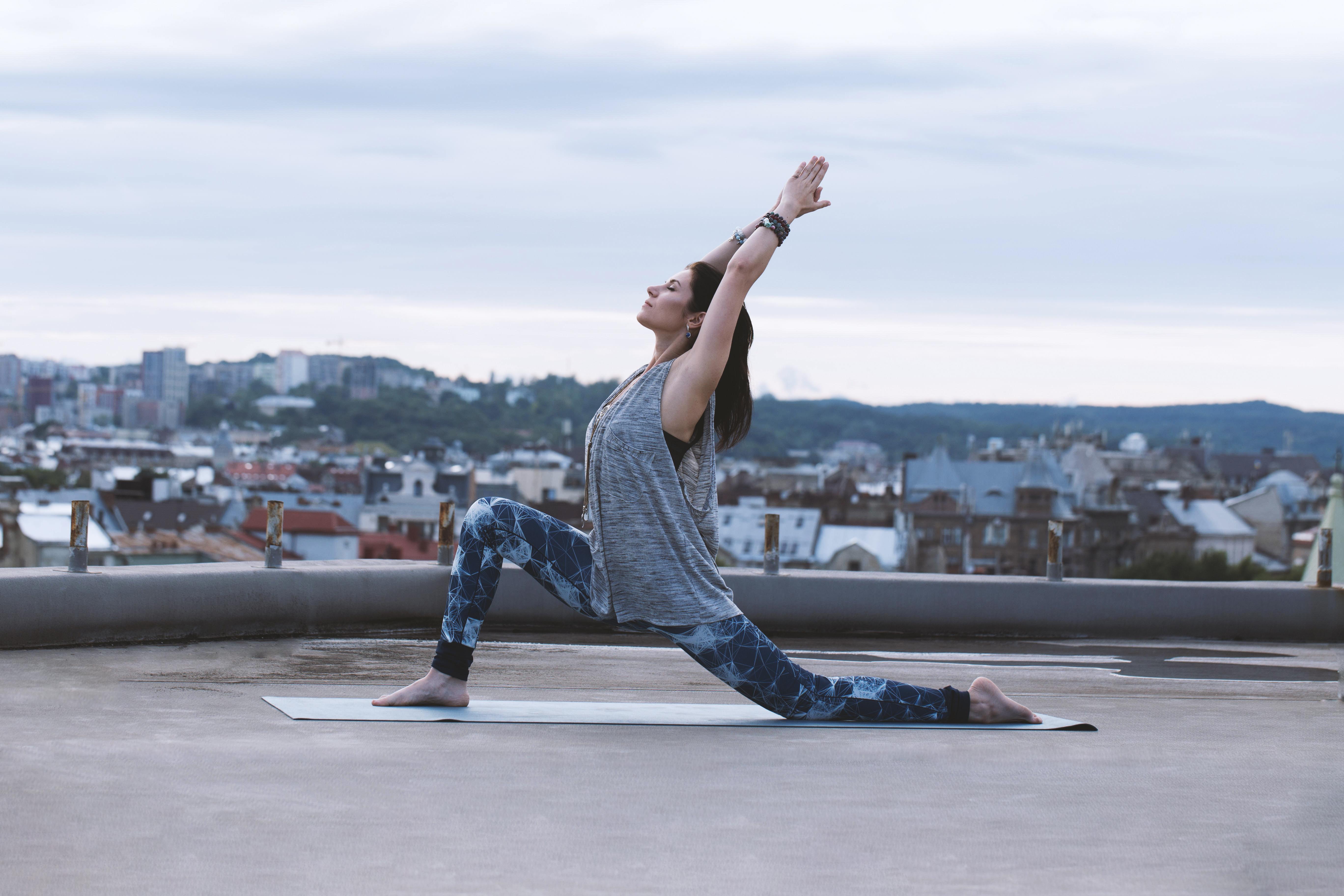 Wednesday Slow flow gentle yoga via zoom