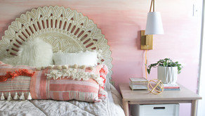 DIY Ombre Wall Mural Tutorial—On Trend and Easy!