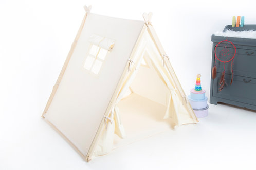 Teepee tent for party sleepover