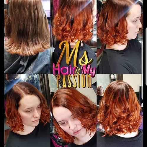 Custom color for bundles, wigs, frontals
