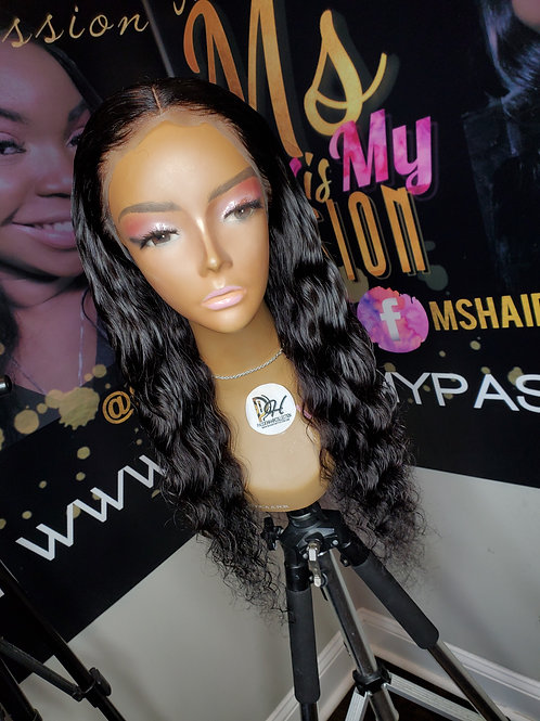 22 inch loose wave frontal unit