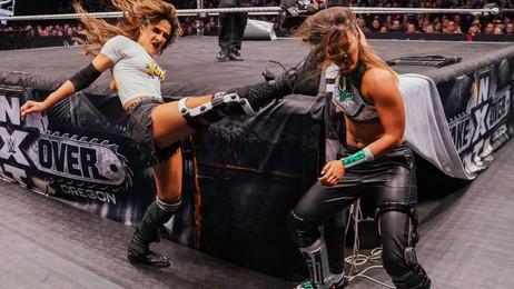 Tegan Nox vs. Dakota Kai num Steel Cage match daqui a duas semanas!