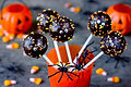 Halloween Cake Pops and Pumpkins