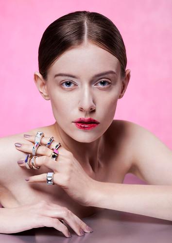 model Martyna Marcinkiewicz hair Dalia L
