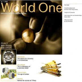 Okładka magazynu World One