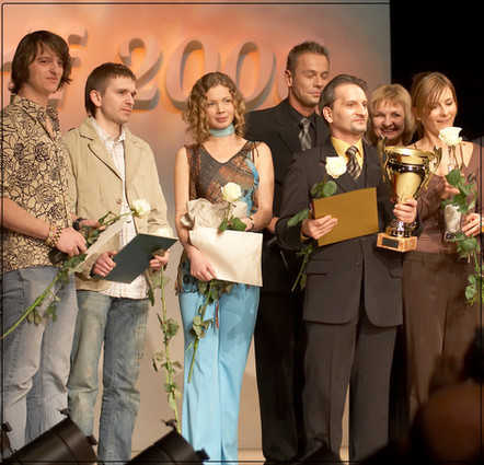 Złoty medal Mercurius Gedanensis : Amberif 2006