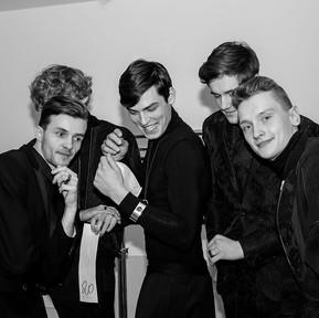 Backstage Amber Look 2015. Pokaz Mariusz Przybylski, Briju i OSTROWSKI-DESIGN.