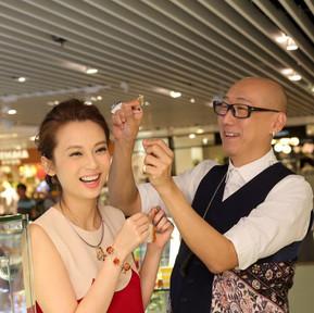 Promocja naszej biżuterii OSTROWSKI-DESIGN w Hong Kongu w Amberozia 琥珀思雅 (naszego przedstawiciela)