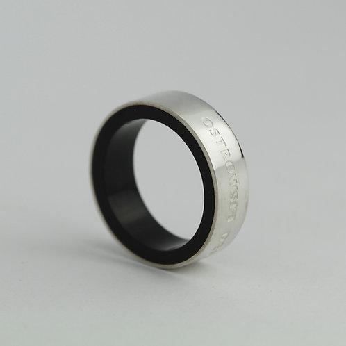 Ring Color-srebrny