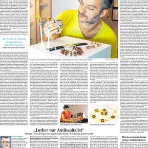"""W niemieckiej gazecie codziennej """"Wirtschaft"""""""