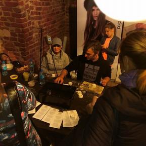 Noc muzeów 2016 w Gdńsku i biżuteryjne warszaty razem z STFZ /Stewarzyczenie Twórców Form Złotniczyc