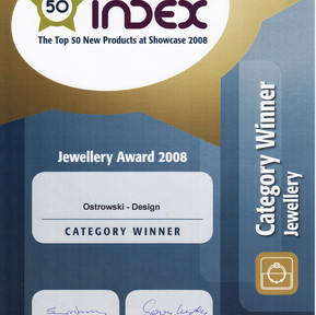 Zwycięztwo na targach biżuterii w Irlandii