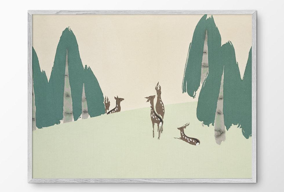 Deers from Momoyogusa