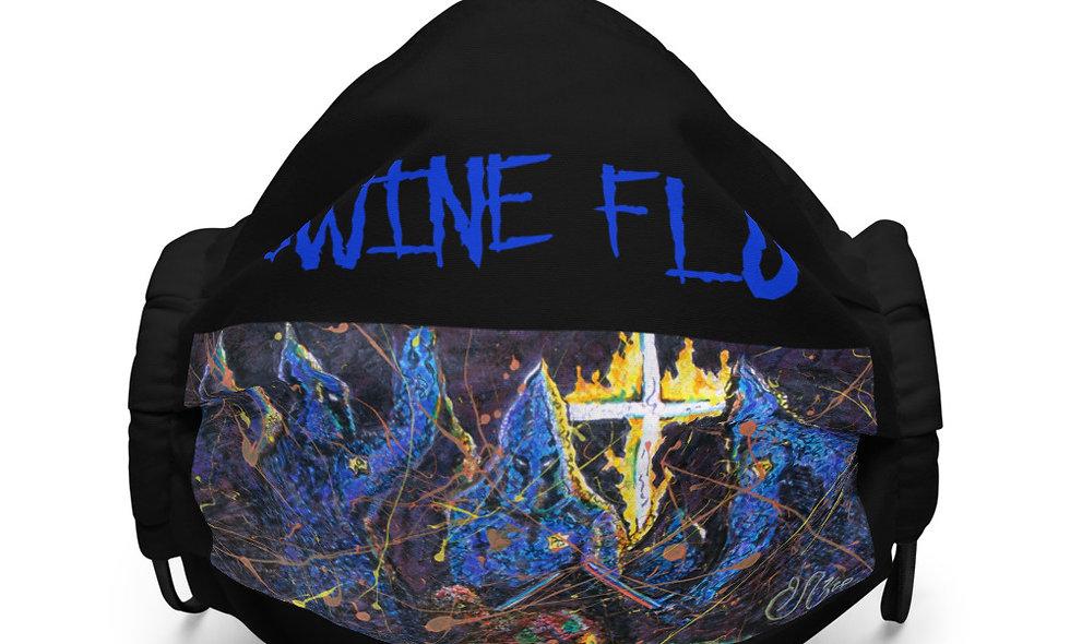 Swine Flu Premium Face Mask