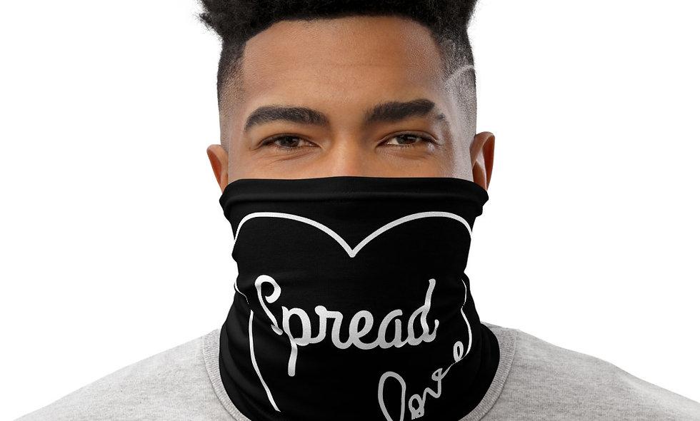 Spread Love Neck Gaiter (Black)
