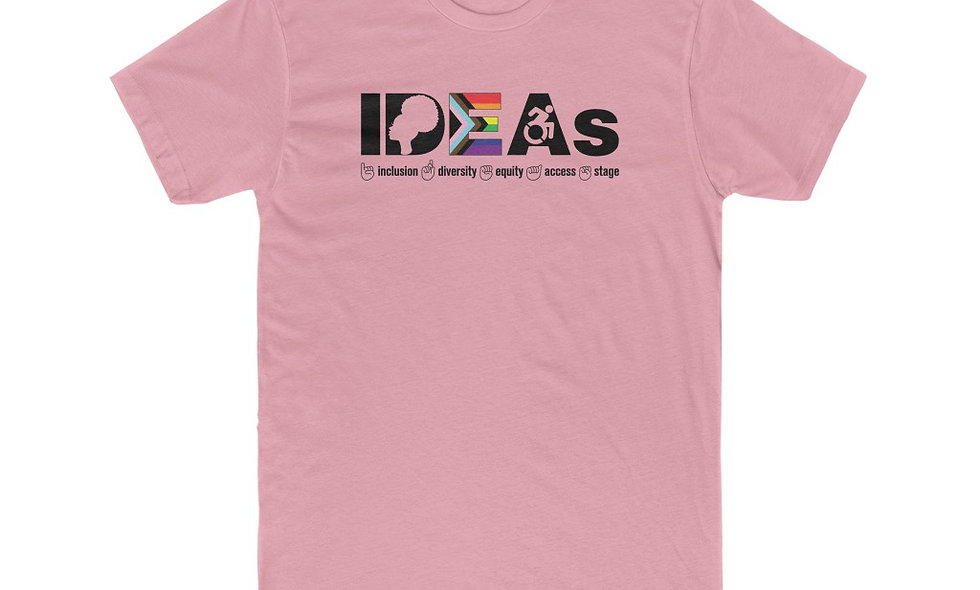 IDEAs Stages Unisex Tee - OUTSPOKEN (Colors and White)