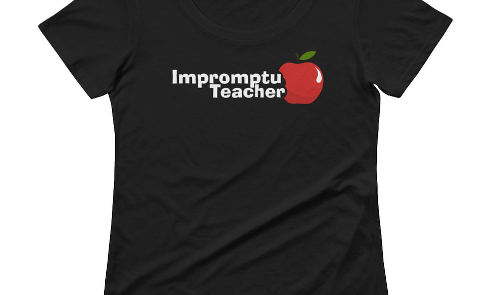 Premium Softstyle Impromptu Teacher (White Words)