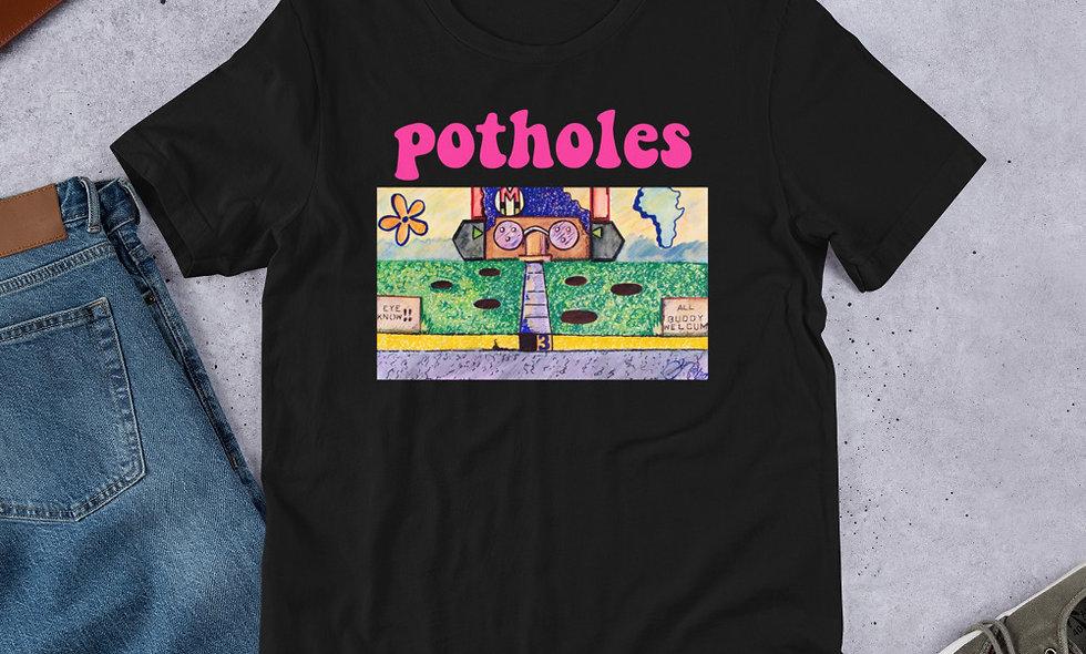 Potholes Unisex Tee