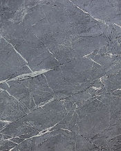 grey soapstone contertop with white lines