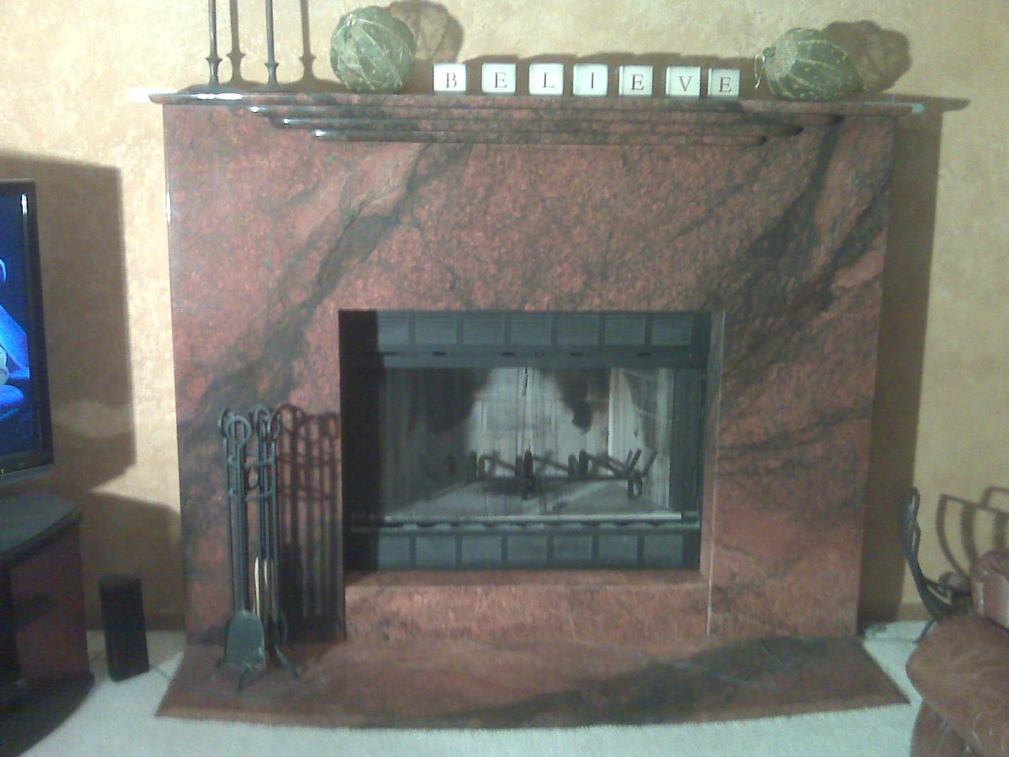 fireplace mantel rockford il Eash Stonew